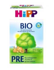 德国喜宝 HiPP Bio有机新生儿奶粉pre段0~6M 600g
